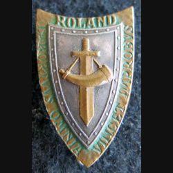 GCJF 25 : insigne métallique du groupement des chantiers de la jeunesse N° 25 Roland Drago Béranger
