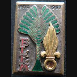 BLEM : Bataillon de la légion étrangère de Madagascar Drago  G. 1438 en émail