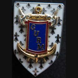 GURM : insigne du groupement des unités de réserve de la marine War Zao fabrication Balme