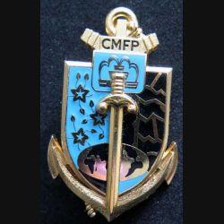 CMFP : insigne métallique du centre militaire de formation professionnelle de fabrication Delsart G. 3881