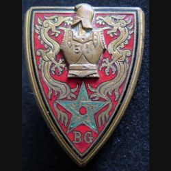31° BG : 31° Bataillon du génie en Extrême Orient avec le chiffre 31 Drago Olivier Métra émail