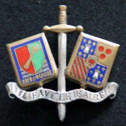 EPOA : École de perfectionnement des Officiers de Achern  type 1 Drago émail