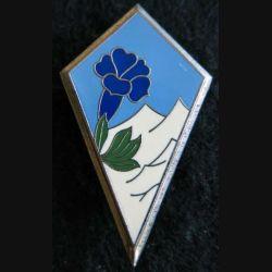 27° DA : insigne métallique de la 27° division alpine de fabrication Delsart Sens G. 2458