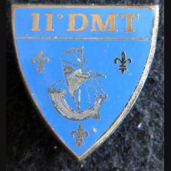 11° DMT : Insigne métallique de la 11° division militaire territoriale Drago G. 2577