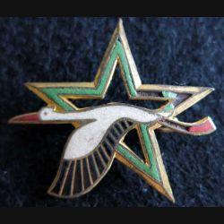 BE 705 : insigne métallique de la base école 705 de Tours en émail petit éclat