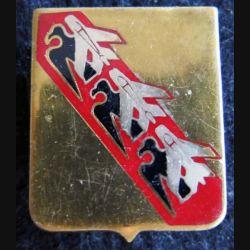 BA 133 : insigne métallique de la base aérienne 133 de Nancy Ochey de fabrication Drago A. 871