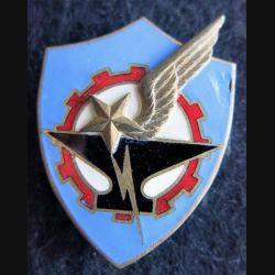 BA 278 : insigne métallique de la base aérienne 278 Ambérieux  fabrication Drago A. 789 éclat émail