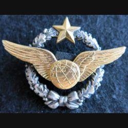 BREVET AIR : insigne métallique de brevet de navigateur de fabrication Drago Romainvillle