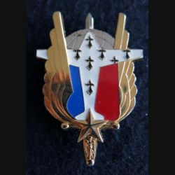 EAAT RENNES: insigne de l'escadrille avions de l'armée de terre à Rennes de fabrication Boussemart G. 4881