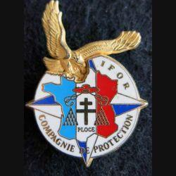 6-12° RC : insigne métallique de la compagnie de protection  6-12° régiment de cuirassiers de fabrication Martineau