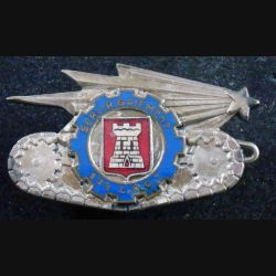 124° EARG : 124° Escadron d'Automobiles de Réserve Générale ABPD émail roue bleue (L 125)