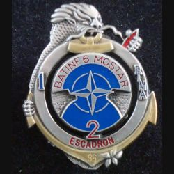 1° RIMA : 2° Esc du Bat Inf 6 de L'IFOR à Mostar 1° Régiment Infanterie Marine Balme numéroté 072 (L 196)