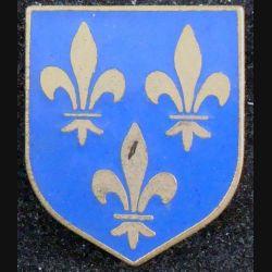 Écu du commandement de la gendarmerie départementale région parisienne AB G. 2137 (L73)