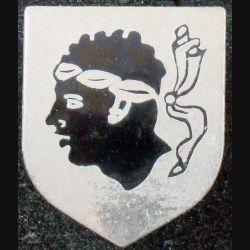 ÉCU de Gendarmerie de la CCRG (cdt de circo régionale de la gend) Corse AB G. 2189 en émail (L 73)
