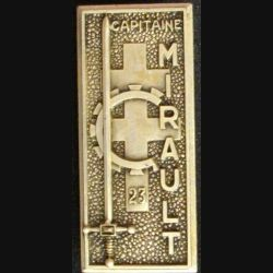 Promotion EOA ESAM : Capitaine MIRAULT 23° promotion LR Paris G. 2379 numéroté 141 (L21)