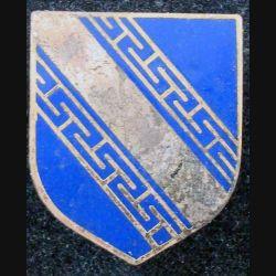 ÉCU de Gendarmerie de la  6° légion bis de GD de Châlons en Champagne A.B G. 2186 en émail (L 73)