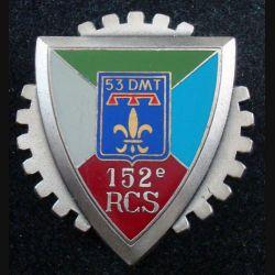 152° RCS 53° DMT : 152° Régiment de Commandement et de Soutien de la 53° DMT DELSART G. 3101 (L226)
