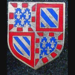 ECU de Gendarmerie : 7° légion gendarmerie départementale Dijon A.B (Arthus Bertrand) G. 2187 émail (L 73)