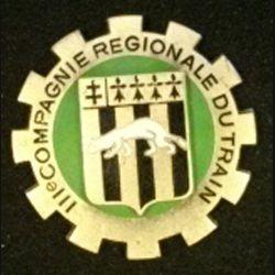 3° CRT : III° COMPAGNIE REGIONALE DU TRAIN