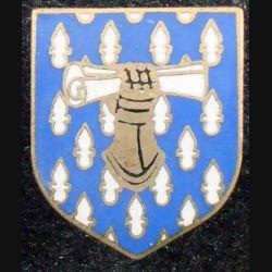 ECU de Gendarmerie : Commandement des écoles et des formations gendarmerie nat A.B G. 2150 émail (L 73)
