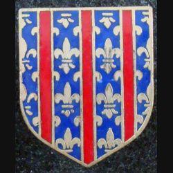 ECU de Gendarmerie : 1° légion ter de gendarmerie mobile de Drancy AB G. 2174 en émail (L 73)