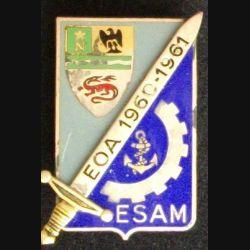Promotion EOA ESAM : promotion 1960 - 1961 EOA ESAM Drago G. 1794 émail (L21)
