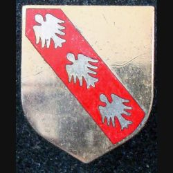 ÉCU de Gendarmerie de la 6° légion de GD de Metz A.BG. 2184 en émail (L 73)