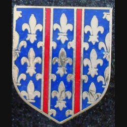 ECU de Gendarmerie : 2° groupement gend mobile d'Arcueil AB G. 2173 en émail sans attache (L 73)