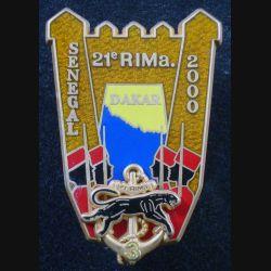 21° RIMA : 3° Cie du 21° Régiment d'Infanterie de Marine Sénégal 2000 Boussemart translucide (L 29)
