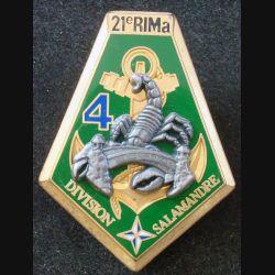 21° RIMa : 4° Compagnie du 21° RIMA DIVISION SALAMANDRE Boussemart 2001 (L 29)