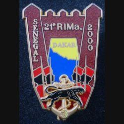 21° RIMA : 3° Cie du 21° RIMA Sénégal 2000 Boussemart translucide prune (L 29)