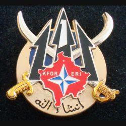 1° RS : Escadron de recherche et d'intervention du 1° escadron du 1° régiment de spahis KFOR Shéli (L 66)