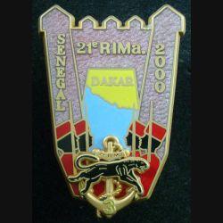 21° RIMA : 3° Cie du 21° Régiment d'Infanterie de Marine Sénégal 2000 Boussemart translucide rose (L 29)
