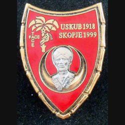 1° RS : 2° escadron du 1° régiment de spahis au Kosovo à Skopje en 1999 A.B Paris n° S 237 en émail (L 67)