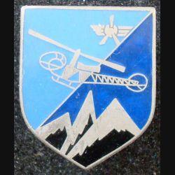 ECU de Gendarmerie : formations hélicoptères de la gendarmerie A.B Paris G. 1719 en émail (L 73)