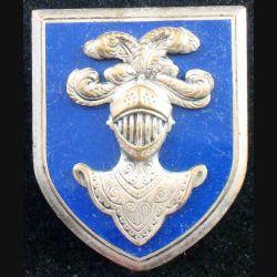 EAABC : Ecole d'application de l'arme blindée cavalerie de Saumur Drago Béranger H. 603 en émail (L83)