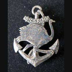 8° CSPIMA : 8° compagnie saharienne portée d'infanterie de marine Drago Paris G. 1673 en métal (L 217)
