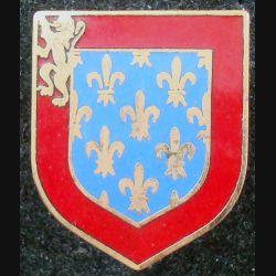 Écu de la 3° légion Bis mixte de gendarmerie de Caen de fabrication A.B (L 73)