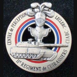 11° RC : Centre de perception Leclerc du 11° régiment de cuirassiers Balme Saumur modèle argenté
