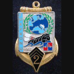 2° RIMA : 1° Mandat FORPRONU du 2° Régiment d'Infanterie de Marine Fraisse numéroté 337 (L 201)