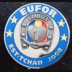 4° RCH : 1° escadron du 4° régiment de chasseurs Est Tchad 2008 EUFOR Arthus Bertrand n° 082