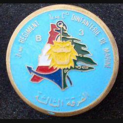3° RIMA : 1° Cie section Bleu 3 du 3° Régiment d'Infanterie de Marine Liban Fab Locale (L 203)