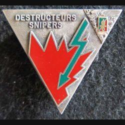 2° REP : insigne de la 4° compagnie du 2° régiment étranger parachutiste Balme