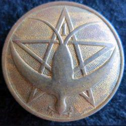 1° RTM : Insigne métallique du 1° régiment de tirailleurs marocains de fabrication locale AFN 1940 en métal