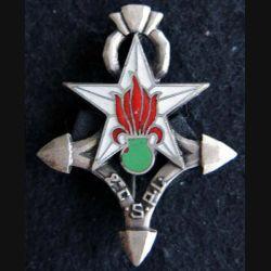 2° CSPLE : Insigne métallique de la 2° compagnie saharienne portée de Légion Étrangère de fabrication Drago Paris