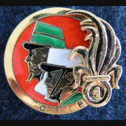 1° RE : insigne métallique compagnie des services de la Légion Étrangère du 1°régiment étranger fabrication FIA