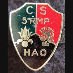5° RMP : compagnie de soutien du 5° régiment mixte du Pacifique Hao Drago