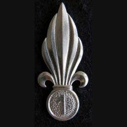 LEGION : flamme de béret argentée (Algérie) du 1° régiment étranger de cavalerie Drago Paris