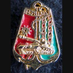 43° BIMA : insigne métallique en réduction du 43° bataillon d'infanterie de marine Boussemart 2001