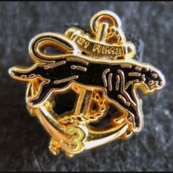 21° RIMa : insigne métallique en réduction 3° compagnie du 21° régiment d'infanterie de Marine fabricant non marquée